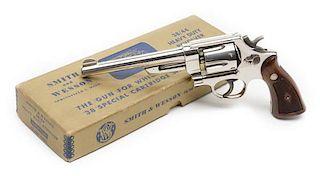 **Smith and Wesson Pre-Model 20 Heavy Duty .38/44 Model of 1950 DA Revolver