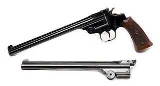 ** Smith and Wesson Third Model Single-Shot Pistol with Extra Barrel