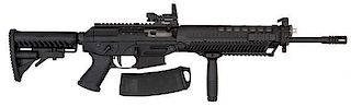 *Sig 556 Semi-Auto Rifle with Red Dot Sight
