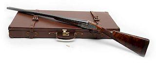 *Breda Factory Engraved Full Sidelock Double-Barrel Shotgun