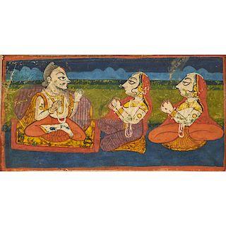 THREE INDIAN ILLUSTRATIONS