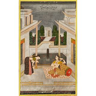 18TH C. INDIAN ILLUSTRATION