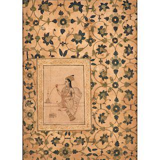 17TH C. INDIAN ILLUSTRATION
