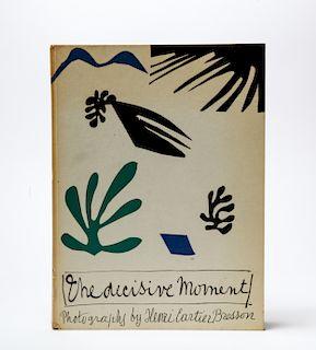 """Henri Cartier-Bresson """"The Decisive Moment"""" Book"""