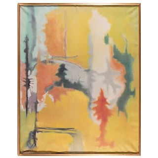 Abstract expressionist painting by Richard J. Mc Donald