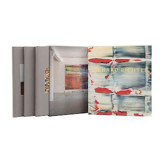Richter, Gerhard / Storr, Robert. Catalogue Raisonné 1962 - 1993 / Gerhard Richter Forty Years of Painting. Piezas: 4.
