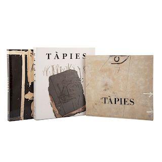 Tàpies, Antoni / Franzke, Andreas / Giménez, Carmen. Tàpies. España, 1992 / 1995 / 2000. Piezas: 3.