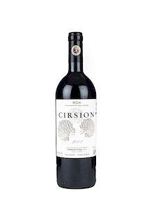 Cirsion. Cosecha 2007. Rioja. Nivel: llenado alto.