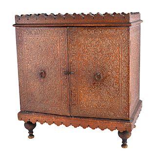Antique Persian Cabinet