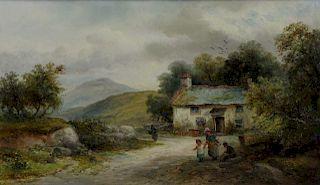 WILLIAM E ELLIS (ENGLISH, 1829-1891).