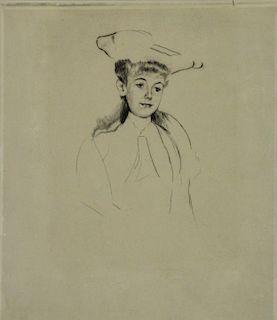 MARY CASSATT (AMERICAN, ACTIVE IN FRANCE, 1844-