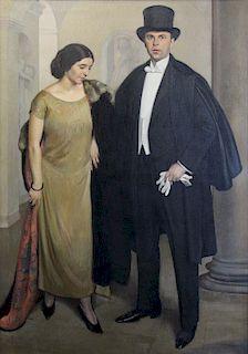 OSKAR BRAZDA (CZECH, 1888-1977).