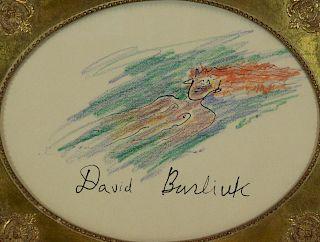 DAVID BURLIUK (RUSSIAN, 1882-1967).