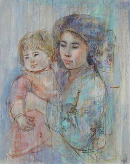EDNA HIBEL (AMERICAN, 1917-2014).