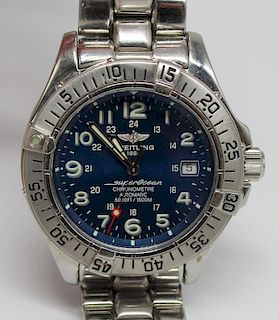 JEWELRY. Breitling Super Ocean Watch, A17360.