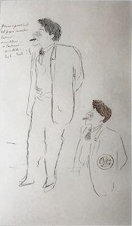 Cocteau, Jean  ,     French (1889-1963)