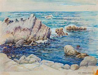 * Hazel Goetsch, (American, 1892-1984), The Blue Sea