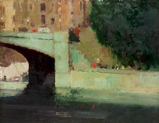 * William Showell, (Canadian, 1903-1984), The Bridge, 1969