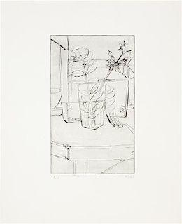 Richard Diebenkorn, (American, 1922-1993), #10, 1965 (from 41 Etchings Drypoints series)