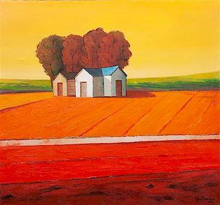 John Mancini, (American, b.1925), Clear Day, 1971
