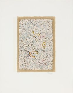 Mark Tobey, (American, 1890-1975), Raissance of a Flower, 1975
