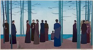 Will Barnet, (American, 1911-2012), Spring Morning, 1985