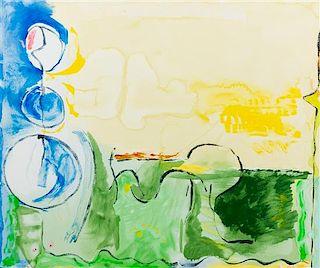 Helen Frankenthaler, (American, 1928-2011), Flotilla, 2006