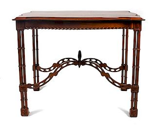 An American Console Table Height 30 x width 39 x depth 27 inches,