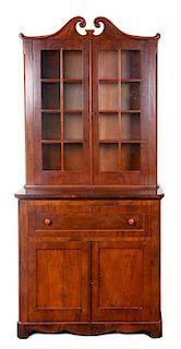 * An English Secretary Desk Height 91 x width 42 x depth 22 3/4 inches.