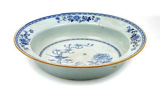 * A Chinese Export Porcelain Bowl Diameter 15 inches.