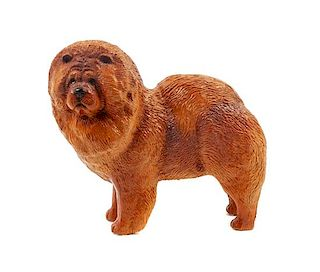 * A Composite Chow Chow Figure Height 7 3/4 inches.