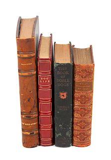 * Eighteen Books of Fiction regarding Dogs