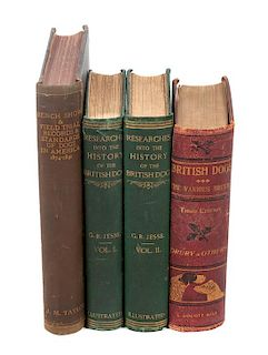* Eight Reference Books regarding British and Show Dogs