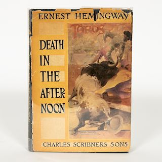 Hemingway, Death in the Afternoon, First Edition