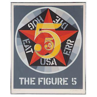 "Robert Indiana. ""The Figure 5"""