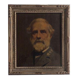 Henry Stanley Todd. Portrait of Robert E. Lee