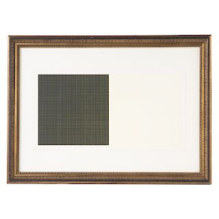 """Sol LeWitt. """"Grids and Color-Plate #22"""""""