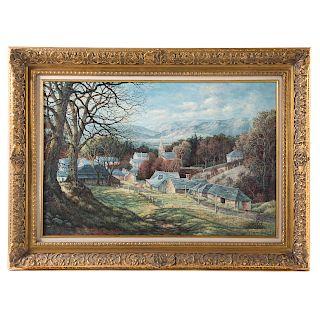 Grace Turnbull. Village Landscape