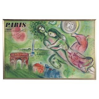 """Marc Chagall. """"Paris L'Opera"""""""