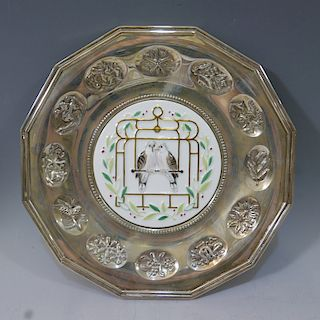 GORHAM TRADITIONAL JEWELERS OF AMERICA STERLING SILVER PLATE 312 GRAMS