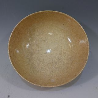 CHINESE ANTIQUE GE WARE BOWL - 18TH CENTURY