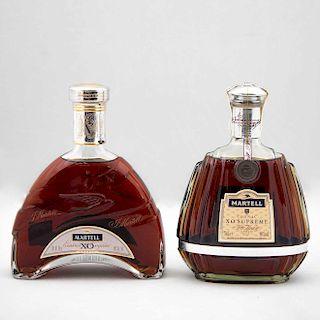 Martell. X.O. y X.O. Supreme. Cognac. France. Piezas: 2. En caja.