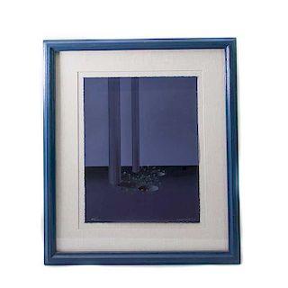 Kurt Larisch. Sin título. Serigrafía, 59/200 Firmada. Enmarcada. 43 x 33 cm