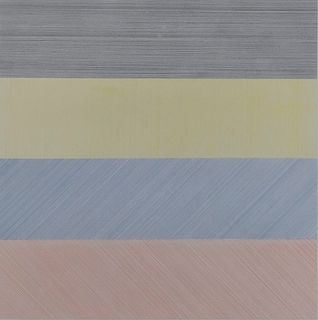 Sol LeWitt  - Horizontal Lines