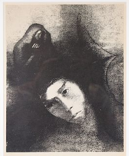 Odilon Redon (1840-1916) Wood Engraving