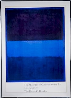 Mark Rothko Art Museum Los Angeles   DAMONE ESTATE