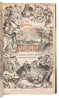 À BECKETT, Gilbert Abbott (1811-1856). The Comic History of England. London: Bradbury, Agnew, and Co., n.d.