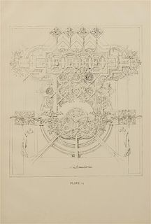 [ARCHITECTURE]. -- SULLIVAN, Louis Henry (1856-1924). [A System of Architectural Ornament, 1924]. A group of 19 plates (of 20).