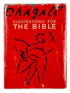 CHAGALL, Marc (1887-1985). Illustrations for the Bible. New York: Harcourt, Brace and Company, 1956.