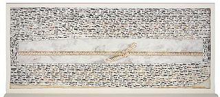 CLEMENTE, Francesco (b.1952). Funerary Paintings. New York: Dia Art Foundation, 1988.